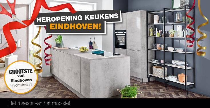 Heropening Keukens Eindhoven NL