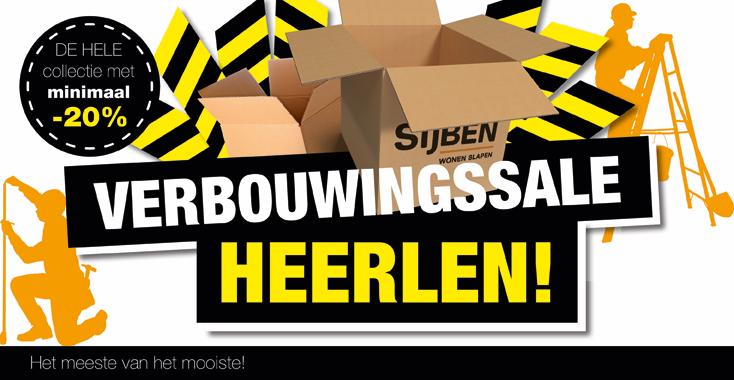 Verbouwingssale Heerlen NL