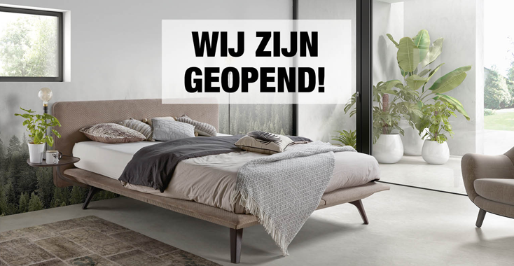 Geopend - Slapen 2020