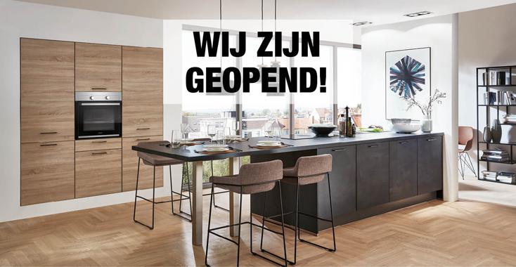 Geopend - Keukens 2020